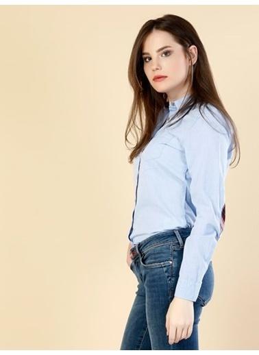 Uzun Kollu Slim Fit Gömlek-Colin's